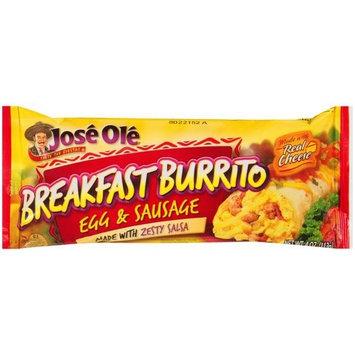 Jose Ole Egg & Sausage Breakfast Burrito, 4 oz