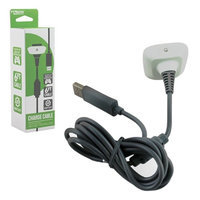 KMD (KOMODO) Charger Cable -White for XBOX 360