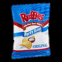 Ruffles Potato Chips Original Party Size