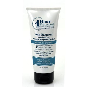 4 Hour Protection Moisturizing Hand Sanitizer Lotion, 2-Ounce (Pack of 2)