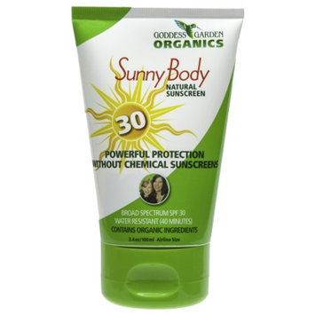 Goddess Garden Sunny Body Natural Sunscreen SPF 30