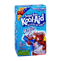Kool-Aid On The Go Tropical Punch Sugar Free Low Calorie Soft Drink Mix