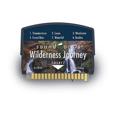 Sound Oasis Wilderness Journey Sound Card for the S-550-05 Sound Therapy System