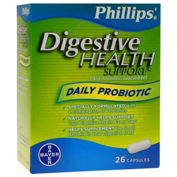 Phillips Daily Probiotic, Capsules, 26 ea