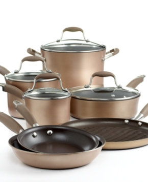 Anolon Advanced 11-pc. Bronze Cookware Set