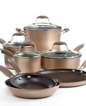 Anolon Advanced 11-pc. Bronze Cookware Set