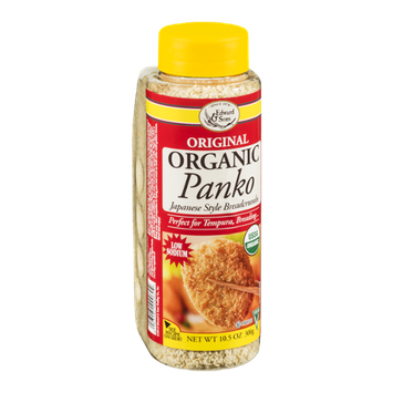 Edward & Sons Organic Panko Japanese Style Breadcrumbs Original