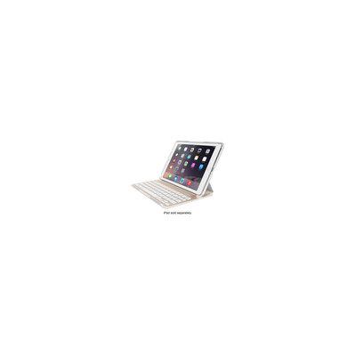 Belkin - Ultimate Pro Keyboard Case For Apple Ipad Air 2 - Gold/white