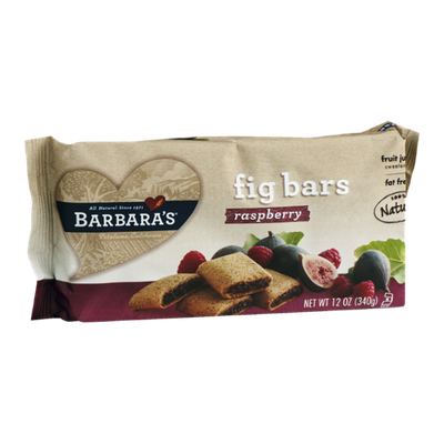 Barbara's Fig Bars Raspberry