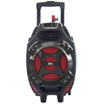QFX Portable Tailgate Speaker-Red