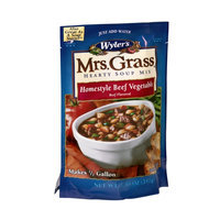 Wyler's Mrs. Grass Hearty Soup Mix Homestyle Beef Vegetable