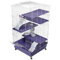 Kaytee Multi Level Home 24x24 for Small Animals, Size: 24X24 INCHES