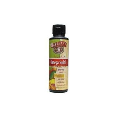 Barleans Omega Swirl Fish Oil Mango Peach Barlean's 8 oz Liquid