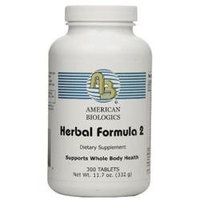 American Biologics Whole Body - 300 Tablets - Intestinal/Colon Support