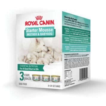 Royal CaninA Starter Mousse Mother and Babydog 3 Can Pack Dog Food