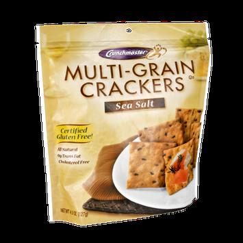 Crunchmaster Multi-Grain Sea Salt Crackers