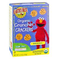 Earth's Best Organic Original Organic Crunchin' Crackers