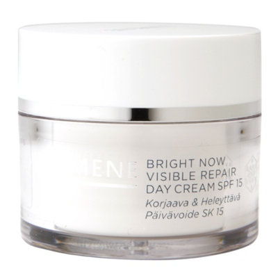 Lumene Bright Now Visible Repair Day Cream SPF 15, 1.7 fl oz