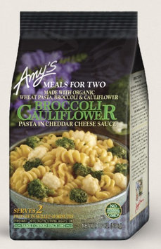 Amy's Kitchen Broccoli Cauliflower, Pasta In Cheddar Cheese Sauce - Meals For Two