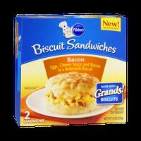 Pillsbury Bacon, Egg & Cheese Biscuit Sandwiches