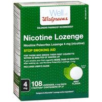 Walgreens Nicotine Lozenges 4 mg