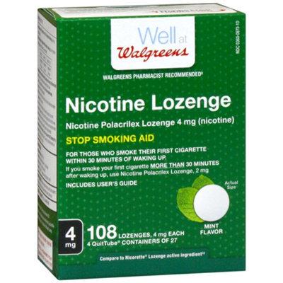Walgreens Nicotine Lozenges 2 mg