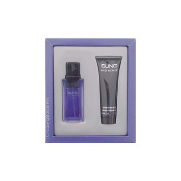 Sung by Alfred Sung for Men - 3 Pc Gift Set 3.4oz EDT Spray, 3.4oz After Shave, 3.4oz Hair and Body Shampoo