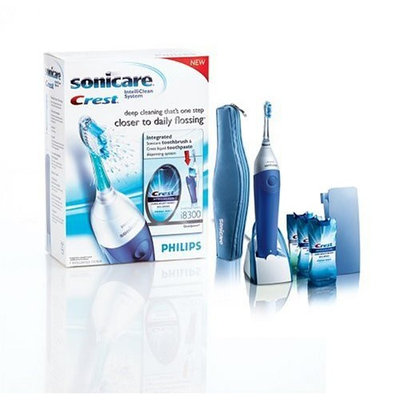Philips Sonicare Crest i8300 IntelliClean System Integrated Power Toothbrush