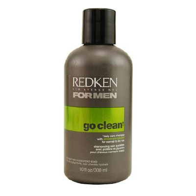 Redken For Men Go Clean Daily Care Shampoo for  Normal to Dry Hair