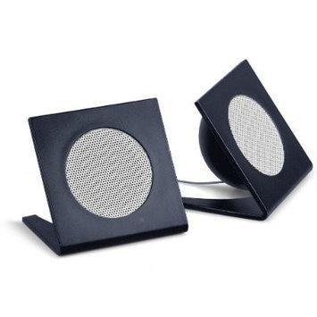 Merkury Innovations Universal iPod(c)/MP3 Stereo Speakers (Black)