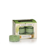 Yankee Candle® Vanilla Lime Tea Light Accent Candles (Box of 12)