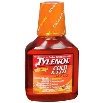Tylenol Cough Warming Daytime Liquid