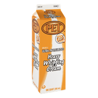 PET Ultra-Pasteurized Heavy Whipping Cream
