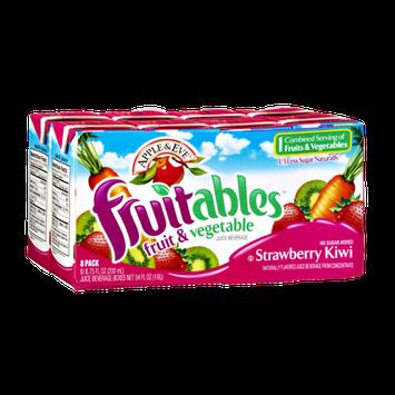 Apple & Eve Fruitables Strawbery Kiwi Fruit & Vegetable Juice Beverage - 8 PK