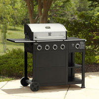Kenmore 4 Burner Gas Grill with Storage - waterbury garment