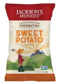 Jackson's Honest Organic Coconut Oil Potato Chips Sweet Potato 5 oz