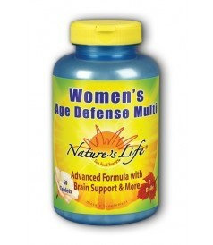 Age Defense Multi Women's Nature's Life 60 Tabs