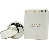 Bvlgari Omnia Crystalline By Bvlgari For Women. Eau De Toilette Spray 1.3 Ounces
