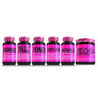 Non-Bloating Toner for Women for Energy Stamina and Pump by SHREDZ - 1 Month Program by SHREDZ 90 CAPSULES