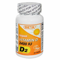 Deva Vegan Vitamins Deva Vegan Vitamin D 2400 IU 90 Tablets