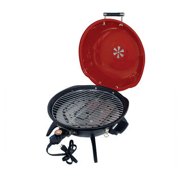 Crystal Promotions 15-inch Electric Tabletop Barbecue Grill