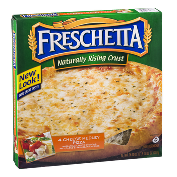 Freschetta Naturally Rising Crust Pizza 4 Cheese Medley
