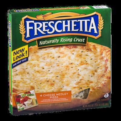 Freschetta Naturally Rising Crust Pizza 4 Cheese Medley