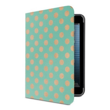 Belkin Form Fit Coverlet for iPad mini - Mint Dot