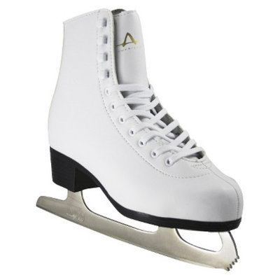 American Athletic Shoe Co Ladies American Leather Lined Figure Skate - White (10)