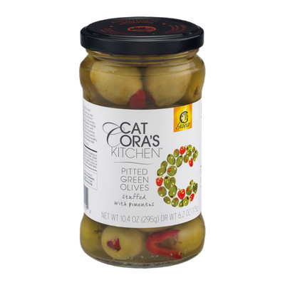 Cat Cora's Kitchen Pitted Green Olives Stuffed With Pimentos