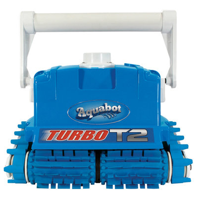 Aqua Products Aquabot Turbo T2 Cleaner with Caddy for In-ground Pools