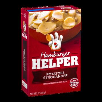 Hamburger Helper Potatoes Stroganoff