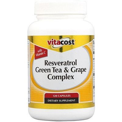 Vitacost Brand Vitacost Resveratrol + Green Tea & Grape Complex -- 120 Capsules