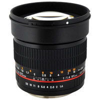 Rokinon 85mm f/1.4 Manual Focus Aspherical Lens (for Fujifilm Cameras)